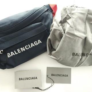 バレンシアガバッグ(BALENCIAGA BAG)のBALENCIAGA  ウィール ロゴエンブロイダリー ベルトバッグ(ショルダーバッグ)