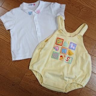 mikihouse - だるまロンパース&シャツ