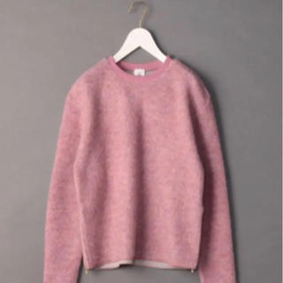 BEAUTY&YOUTH UNITED ARROWS - ROKU ◆PILE ZIP PULLOVER/カットソー