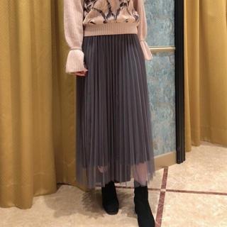 GRACE CONTINENTAL - グレースコンチネンタル リバーシブルプリーツスカート