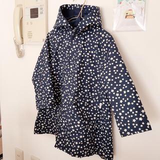 Combi mini - コンビミニ レインコート サイズ100 星柄 紺色