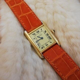 Cartier - カルティエ ヴィンテージマストタンク腕時計