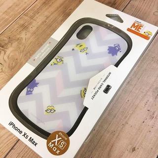 ミニオン - ミニオンズ iPhoneXsMax ハイブリッドガラスケース MINI132B