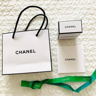 CHANEL - シャネル ショッパー  空箱 リボン カード セット