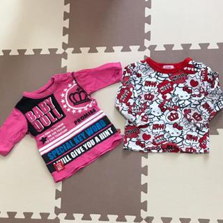 ベビードール(BABYDOLL)のBABYDOLL♡2点まとめ売り♡トップス♡80(Tシャツ)