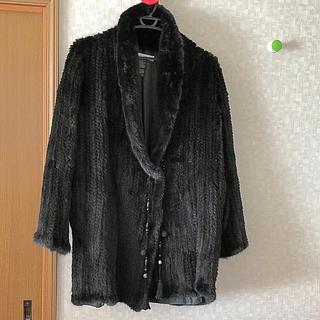 ダブルスタンダードクロージング(DOUBLE STANDARD CLOTHING)のダブスタ ミンクファーニットジャケットコート(毛皮/ファーコート)