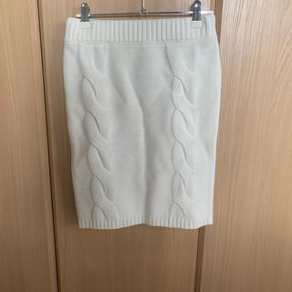 エゴイスト(EGOIST)のEGOIST♡ニットスカート(ひざ丈スカート)