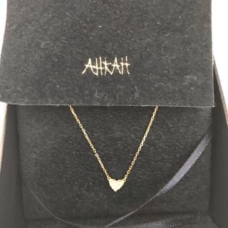 AHKAH - K18YG ♡ パヴェダイヤモンド ネックレス