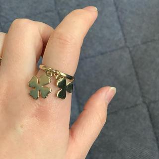 マークジェイコブス(MARC JACOBS)の新品同様マークジェイコブスクローバーリング17号(リング(指輪))