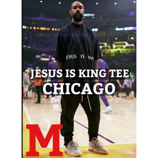 FEAR OF GOD - KANYE WEST JESUS IS KING CHICAGO TEE