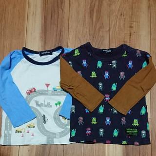 kladskap - クレードスコープ ロングTシャツ2枚セット 90㎝