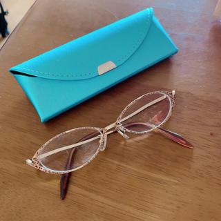 ゾフ(Zoff)の豹柄 軽量フレーム メガネ 眼鏡 メガネケースとメガネクロス付き(サングラス/メガネ)
