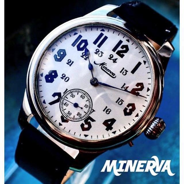 ◆ミネルバ◆ OH済/スモセコ/1920/アンティーク/腕時計/手巻の通販