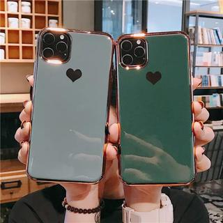 iphone8plusケース ブルーグレー(iPhoneケース)
