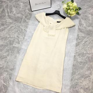 FOXEY - 美品 フォクシー FOXEY 美シルエット 最高級 シルク ドレス  ワンピース