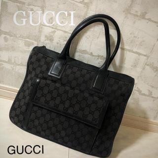 Gucci - 正規品!GUCCI グッチ トートバッグ  百貨店購入!A4サイズ収納可 鞄