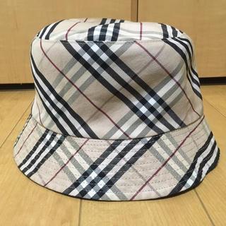 BURBERRY - リバーシブル帽子 Burberry  レディース
