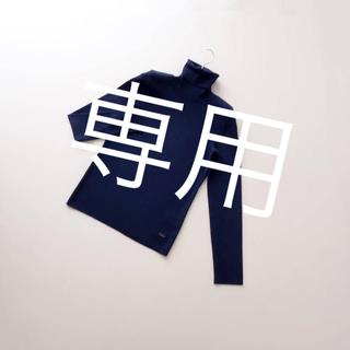 FOXEY - ■FOXEY■ 40 濃紺 グレースウール タートルネックセーター