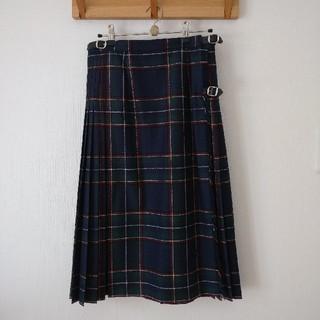 オニール(O'NEILL)のオニールオブダブリン ウール100 サイズ10 キルトスカート チェックスカート(ロングスカート)