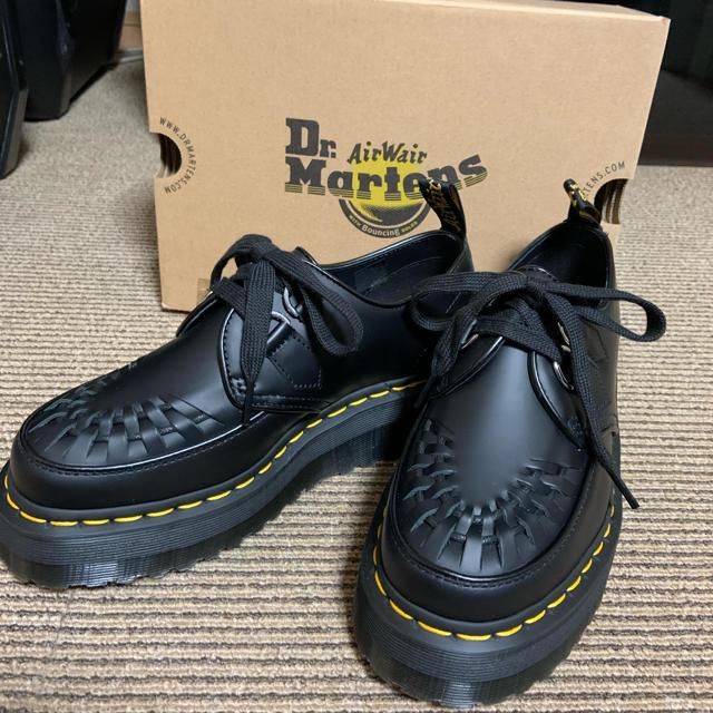 Dr.Martens(ドクターマーチン)の【値下げしました‼️】ドクターマーチン 厚底 24センチ レディースの靴/シューズ(ローファー/革靴)の商品写真