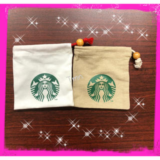 Starbucks Coffee - SALE❗️スターバックス☆ミニ巾着☆2枚セット