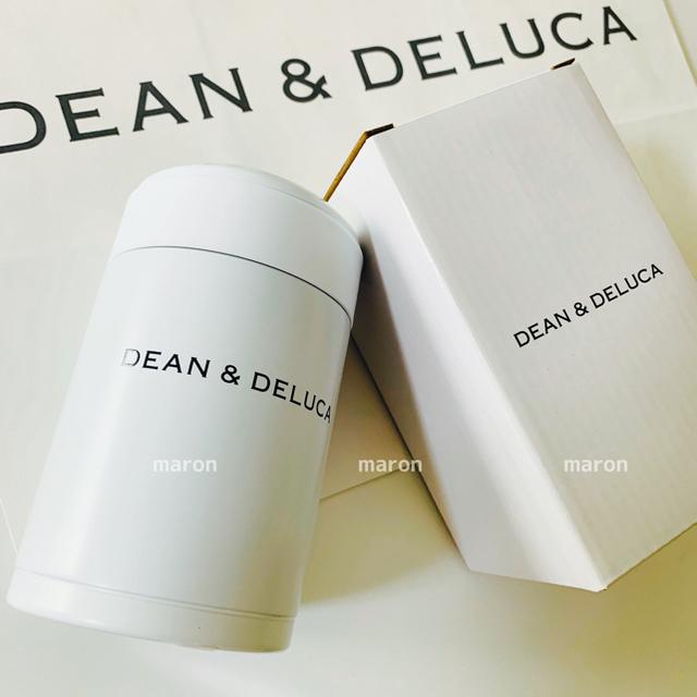 DEAN & DELUCA(ディーンアンドデルーカ)のラッピングset付きDEAN&DELUCAスープジャースープポットフードコンテナ インテリア/住まい/日用品のキッチン/食器(弁当用品)の商品写真