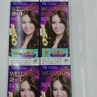 ウエラ(WELLA)の★新品・未使用★WELLA ウェラ 白髪染め 7G×4個セット(白髪染め)