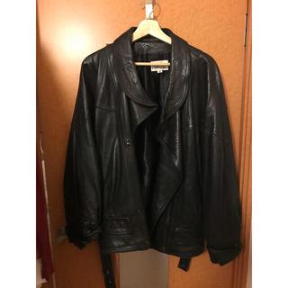 コムデギャルソン(COMME des GARCONS)のサレン東京購入 レザージャケット ライダースジャケット 変形ジャケット(レザージャケット)