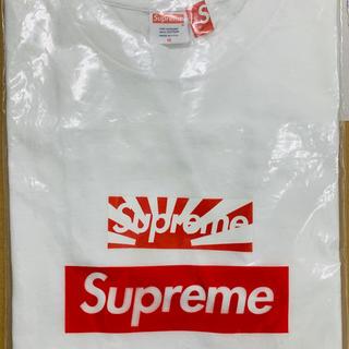Supreme - Supreme box logo T チャリティー 日章旗 ボックスロゴ T