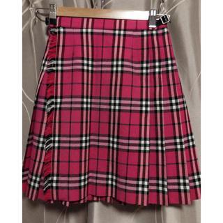 BURBERRY - バーバリー チェックプリーツスカート