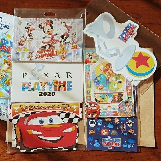 Disney(ディズニー)のディズニー  ポストカード ベリーベリーミニー  ピクサー エンタメ/ホビーの声優グッズ(写真/ポストカード)の商品写真