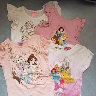ディズニー(Disney)のディズニープリンセス Tシャツ 2枚セット(Tシャツ/カットソー)