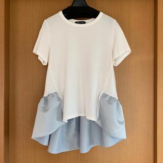 BARNEYS NEW YORK - YOKO CHANヨーコチャン☆ペプラムTシャツ☆38