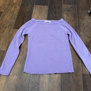 ニット セーター パープル 紫(ニット/セーター)
