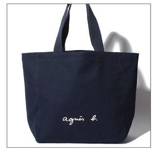 アニエスベー(agnes b.)のアニエスべー トートバッグ ブラック Lサイズ 正規輸入品(トートバッグ)