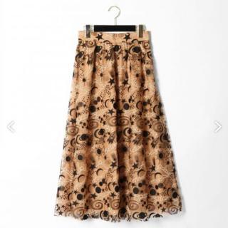 GRACE CONTINENTAL - グレースコンチネンタルプラネット刺繍スカート