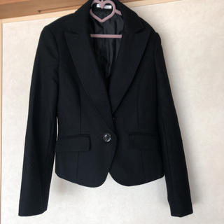 ピンキーアンドダイアン(Pinky&Dianne)のピンキーアンドダイアン ジャケット スーツ 黒 38 きれいめ 行事 ママ(テーラードジャケット)