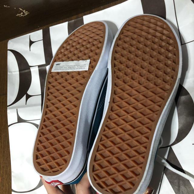 VANS(ヴァンズ)のvans バンズ ブルー スニーカー レディースの靴/シューズ(スニーカー)の商品写真