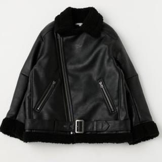 moussy - キャンセルの為再出品 F/LEATHER OVER SIZED ジャケット 完売