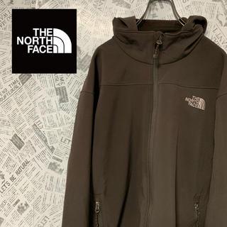 THE NORTH FACE - ザ・ノースフェイス エイペックス ソフトシェルパーカー ブラウン L