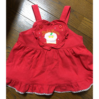 PINK HOUSE - ジャンパースカート♡90