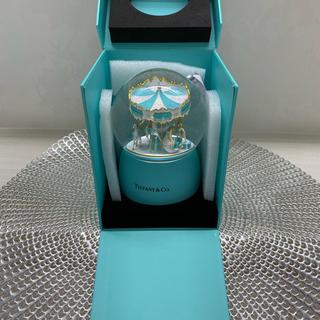 Tiffany & Co. - ティファニー スノードーム メリーゴーランド