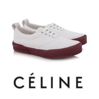 celine - celine セリーヌ 180° スニーカー 靴 oldceline フィービー