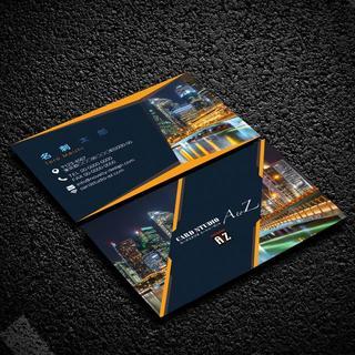 セミオーダー!プロのデザイナーが作る商業印刷の高品質名刺両面100枚/Y0065(オーダーメイド)