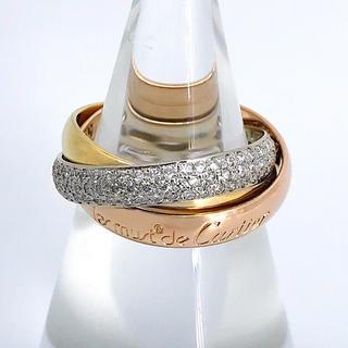 Cartier - 【仕上済】カルティエ トリニティリング ダイヤ 9号 レディース 指輪