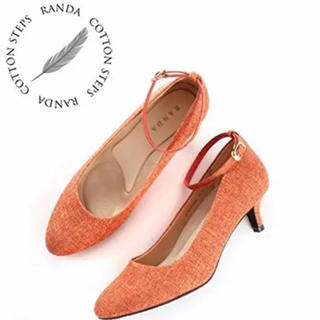 ランダ(RANDA)の【RANDA】アンクルストラップパンプス 23cm(ハイヒール/パンプス)