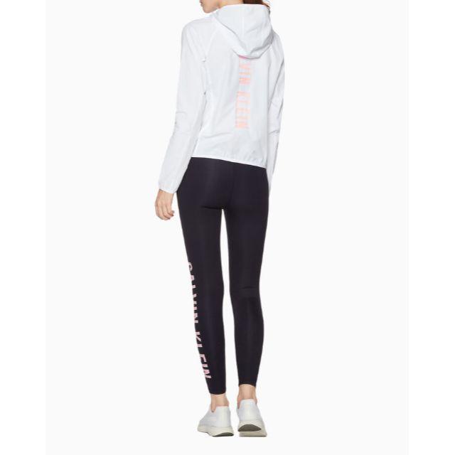 Calvin Klein(カルバンクライン)のCALVIN KLEIN サイド ロゴ アンクル丈 レギンス パンツ スパッツ レディースのレッグウェア(レギンス/スパッツ)の商品写真