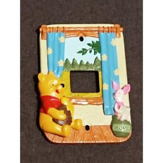 Disney - 美品♪プーさん電気のスイッチカバー