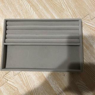 MUJI (無印良品) - 無印 アクリル ボックス用 ベロア仕切り