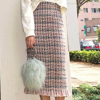 MERCURYDUO - MERCURYDUO ツイード スカート
